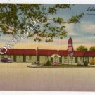 Vtg LIBERTY MOTEL, GREENFIELD INDIANA IN Postcard F65