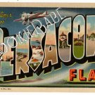Vtg PENSACOLA FL POSTCARD LLG 1946 Red Cross CX F 96