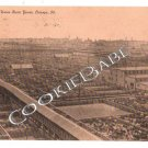 Vtg UNION STOCK YARDS Cattle Pens IL Postcard F9