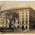 Vtg 1911 SOUTH BEND, IN *Oliver Hotel* RPPC F115