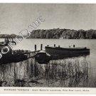 1940 rppc PAW PAW, MI Bowe's Landing POSTCARD F72