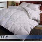 EURO CHECK 1000 TC Hungarian Goose Down Comforter QUEEN