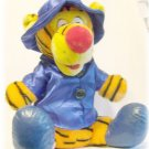 "PLUSH TIGGER Winnie the Pooh Character 15"" Blue Coat"