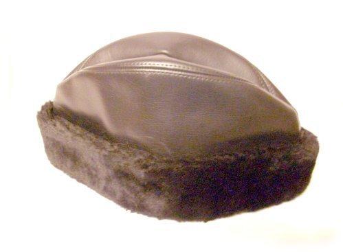 BOYS Warm Winter DRESS Hat Cap GARRISON Style Black
