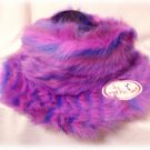 ~NEW COSTUME~SHAGGY HAT~Plush PARTY~w/Brim WARM NWT