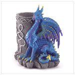37866 Sitting Dragon with Pencil Holder
