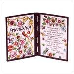 25014 Friendship Plaque
