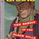 The Bandit of the Black Hills, Max Brand, Vintage Pocket Book #2717 Western
