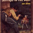 Stirrups In the Dust, Vintage Paperback Western, Signet #952