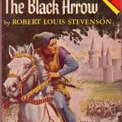 The Black Arrow, Stevenson, Adventure, Classics, Vintage Paperback Pocket Book #J-57