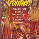 The Last Frontier, Howard Fast, Vintage Paperback Book, Western, Avon #205
