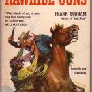 Rawhide Guns, Frank Bonham, Vintage Paperback Book, Western, Popular Library #707