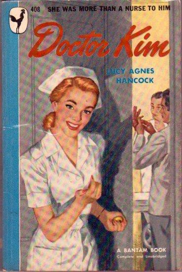 Doctor Kim, Hancock, Vintage Paperback Book, Bantam #408, Nurse Romance