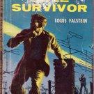 Sole Survivor, Falstein, Vintage Paperback Book, Cold War, Spy, Intrigue, Dell First Edition #29