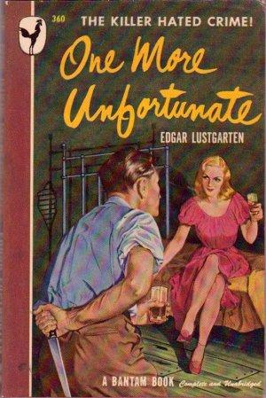 One More Unfortunate, Vintage Paperback Book, Bantam #360, Mystery