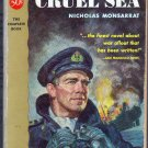 The Cruel Sea, Monsarrat, Vintage Paperback Book, Sailing, Adventure, Cardinal #GC-10
