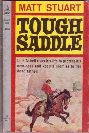 Tough Saddle, Matt Stuart, Vintage Paperback, Pocket Books #6066, Western