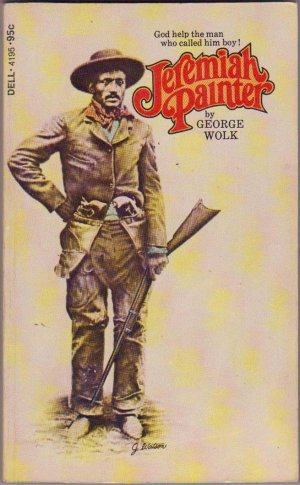 Jeremiah Painter, Vintage Paperback Book, Dell #4195, African American, Western