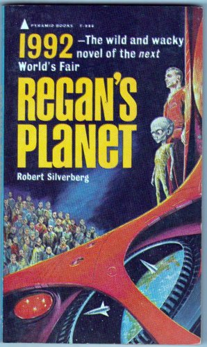 Regan's Planet, Silverberg, Vintage Paperback Book, Pyramid #F-986, Science Fiction