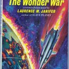 The Wonder War, Janifer, Vintage Paperback Book, Pyramid #F-963, Science Fiction