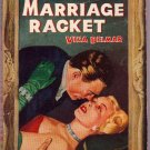 The Marriage Racket, Vina Delmar, Vintage Paperback Book, Avon #107, Romance