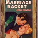 The Marriage Racket, Vina Delmar, Vintage Paperback Book, Avon #107, Romance