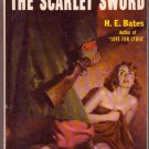 The Scarlet Sword, H.E. Bates, Vintage Paperback Book, Popular Library #G-127, Wartime Drama