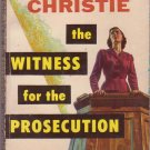 The Witness For the Prosecution, Christie, Vintage Paperback Book, Dell #855, Mystery