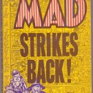 Mad Strikes Back!, William Gaines, Vintage Paperback Book, Ballantine #U-2102, Humor