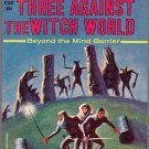 Three Against the Witch World, Norton, Vintage Paperback Book, Ace #F-332, Science Fiction