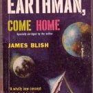 Earthman, Come Home, James Blish, Vintage Paperback Book, Avon #T-225, Science Fiction