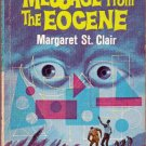 Message From the Eocene, St. Clair, Vintage Paperback Book, Ace #M-105, Science Fiction