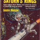 The Secret of Saturn's Rings, Wollheim, Vintage Book, Paperback Library #52-996, Science Fiction