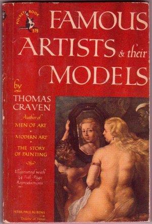 Famous Artists & Their Models, Thomas Craven, Vintage Paperback, Pocket Books #579, Reference