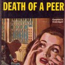 Death of a Peer, Ngaio Marsh, Vintage Paperback, Pocket Book #475, Mystery