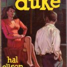 Duke, Hal Ellson, Vintage Paperback Book, Popular Library #219, Juvenile Delinquency, Drug Use