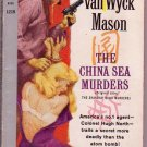The China Sea Murders, Mason, Vintage Paperback, Pocket Books #1219, Mystery