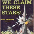 We Claim These Stars/The Planet Killers, Vintage Paperback Book, Ace Double Sci-Fi #D-407