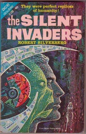 The Silent Invaders/Battle On Venus, Vintage Paperback Book, Ace #F-195, Science Fiction, Sci-Fi