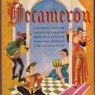 Tales From the Decameron, Giovanni Boccaccio, Vintage Paperback, Pocket Books #477, Classic Tales