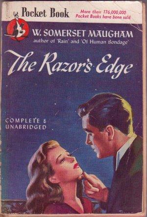 The Razor's Edge, Maugham, Vintage Paperback, Pocket Book #418, Romance