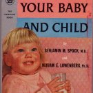 Feeding Your Baby and Child, Spock, Vintage Paperback, Pocket Book #1106, Family