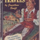 Gulliver's Travels, Jonathan Swift, Vintage Paperback Book, Quick Reader #136, Adventure, Classics