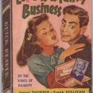 Love Is a Funny Business, Vintage Paperback Book, Quick Reader #126, Romance, Humor, PBO