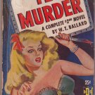 Say Yes To Murder, Ballard, Vintage Paperback Book, Digest, B.D.S. #9, Mystery