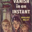 Vanish In An Instant, Millar, Vintage Paperback Book, Dell # 730, Murder, Mystery