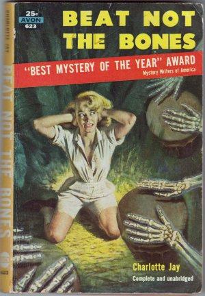 Beat Not The Bones, Charlotte Jay, Vintage Paperback Book, Avon #623, Mystery