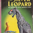 The Silver Leopard, Helen Reilly, Vintage Paperback Book, Dell Mapback #287, Mystery