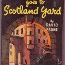Mr. Pinkerton Goes To Scotland Yard, David Frome, Vintage Paperback, Pocket Book #124, Mystery