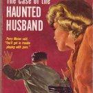 The Case Of The Haunted Husband, Erle Stanley Gardner, Vintage Paperback, Pocket Book #590, Mystery